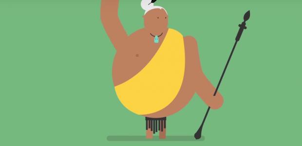 Le haka des All Blacks expliqué dans un dessin animé